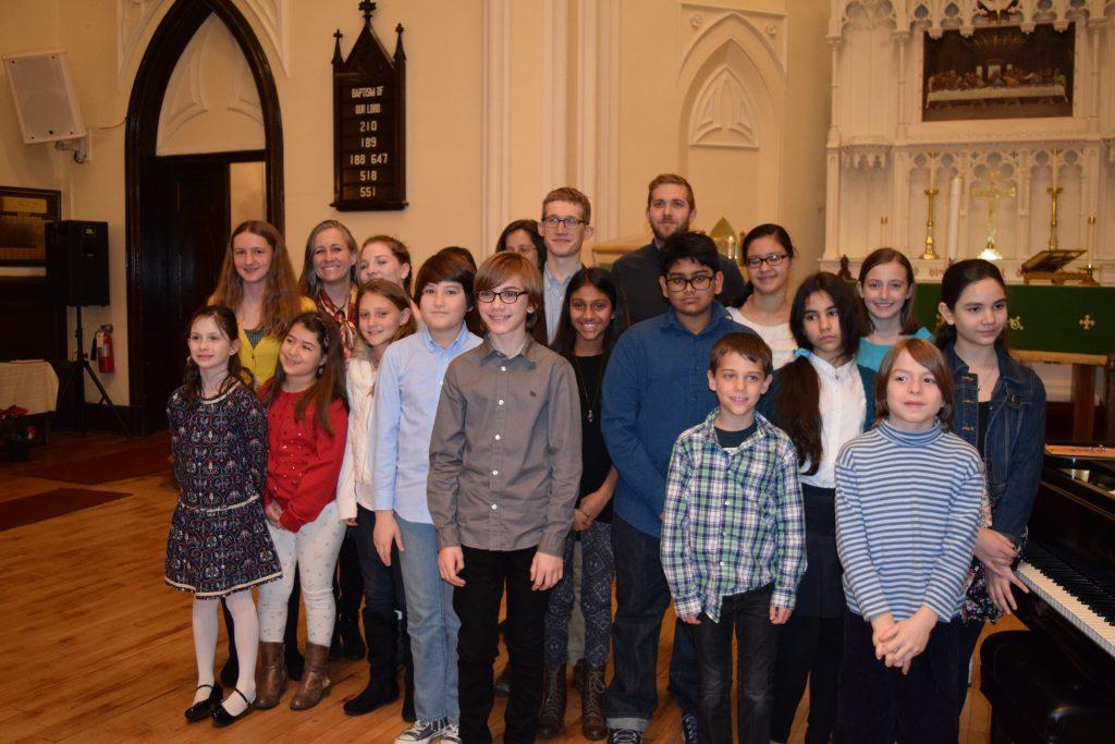 Students at Recital