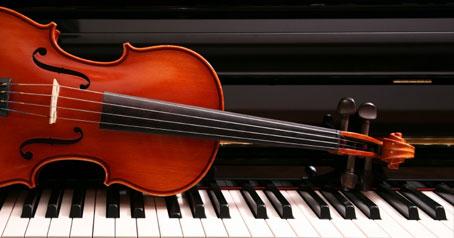 Piano with Violin